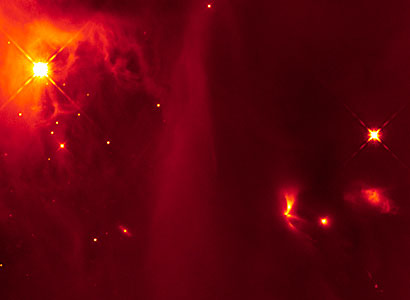 Hubble image of LRLL 54361 and its surroundings