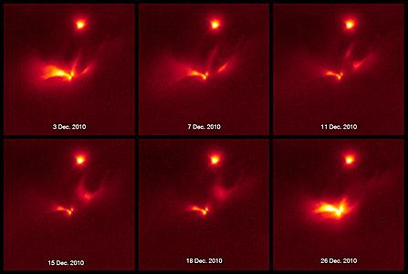 Light echo around LRLL 54361