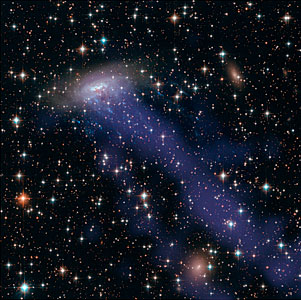 Hubble and Chandra composite of ESO 137-001