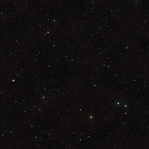 Digitized Sky Survey Image around CLASS B1608+656 (ground-based image)