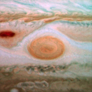 Jupiter's Great Red Spot in 2009