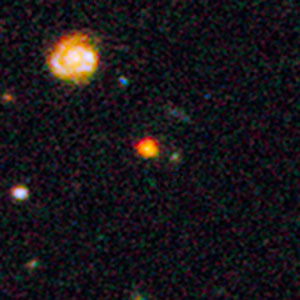 Inset view of distant galaxy GOODS-N-774