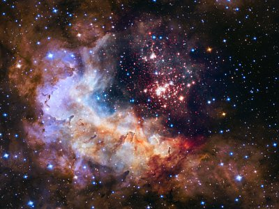 Westerlund 2 — Hubble's 25th anniversary image