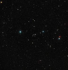 Wide-field view of galaxy group HCG 16 (ground-based view)