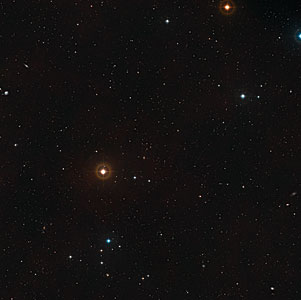 The area around SpARCS1049+56 (ground-based image)