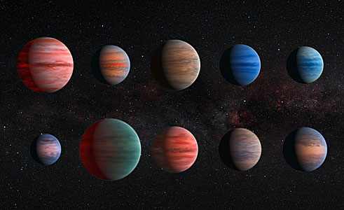 Clear to cloudy hot Jupiters
