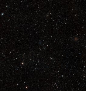 Wide-field image of Abell S1063 (ground-based image)