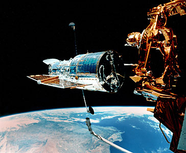 Hubble Left Alone in Space