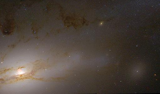 Active Galaxy NGC 4438
