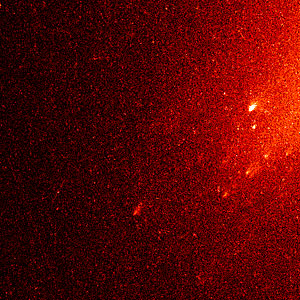 Comet Linear Fragments (Close-Up Version)