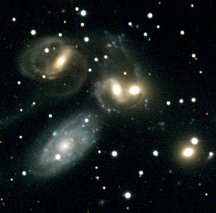 Stephan's Quintet [NOAO] (ground-based image)