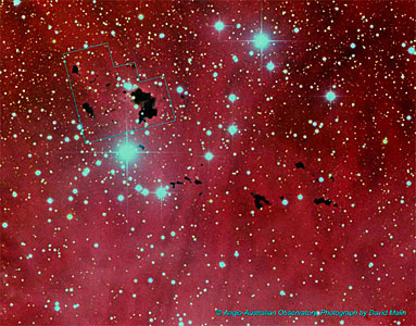 IC 2944 (ground-based image)