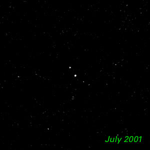 July 2001 - Kuiper Belt Object 1998 WW31