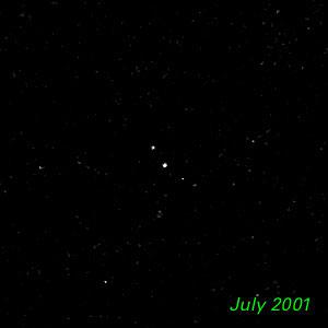 July 2001 - Kuiper Belt Object 1998 WW31