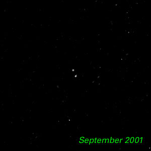 September 2001 - Kuiper Belt Object 1998 WW31