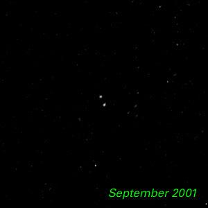 September 2001 - Kuiper Belt Object 1998 WW31