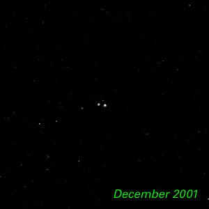 December 2001- Kuiper Belt Object 1998 WW31