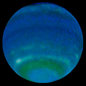 Springtime on Neptune - 1998 Image of Neptune