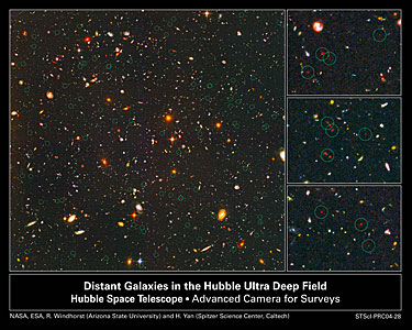 Farthest Objects Ever Seen Pinpointed in the Hubble Ultra Deep Field