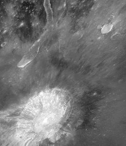 Hubble View of Aristarchus Plateau on the Moon
