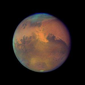 Mars Near Opposition 1995-2005: 2005