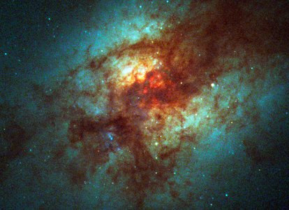 Super Star Clusters in Dust-Enshrouded Galaxy