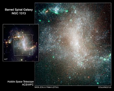 "Stellar ""Infant Mortality"" in Spiral Galaxy NGC 1313"