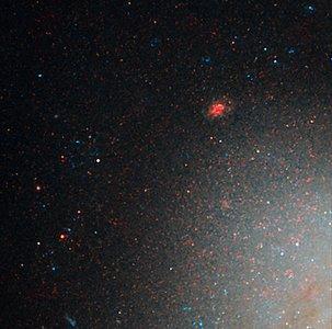 NGC 3021 NICMOS/ACS detail 1