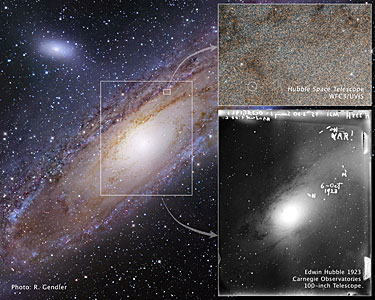 Snapshots of the star that changed the Universe