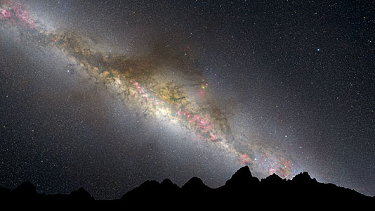 Artist's Illustration of the present Milky Way