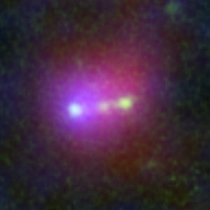 Himiko (Subaru, Hubble, and Spitzer close-up view)