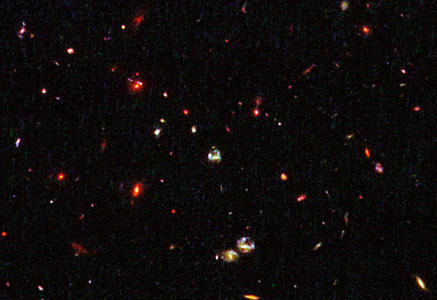 Gravitational lensing by galaxy in cluster IRC 0218