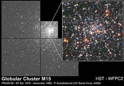Globular Cluster M 15