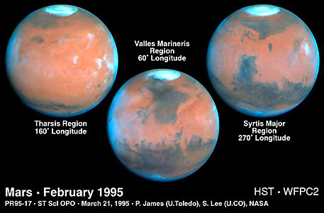 Mars at Opposition 1995