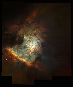 The Center of the Orion Nebula