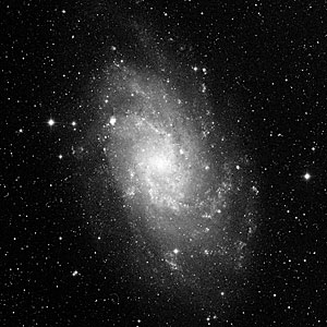 NGC 604 in Galaxy M33 (ground-based image)