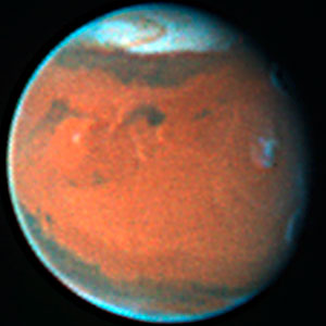 Mars in December 1996