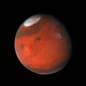 Mars in September 1996