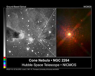 The Cone Nebula NGC 2264