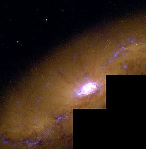 Starburst Galaxy NGC 1808