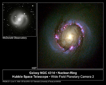 Galaxy NGC 4314