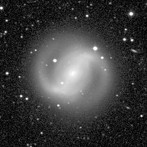 Galaxy NGC 4314 (Ground-Based View)