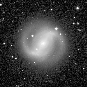 Galaxy NGC 4314 (Ground-Based View)