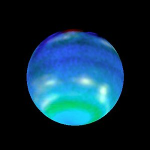 Opposite Hemispheres of Neptune