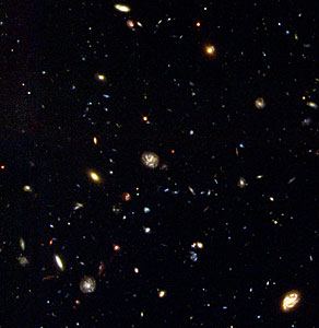 Hubble Deep Field South Unveils Myriad Galaxies