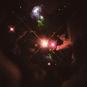 Hubble Heritage Project's First Anniversary. A View of HH 32