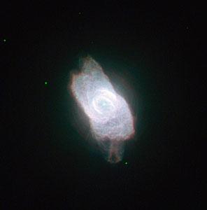 A dazzling planetary nebula