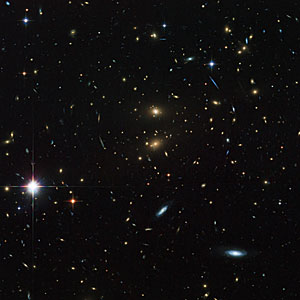 Hubble peers through the looking glass