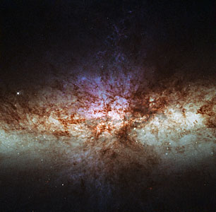 Smoke without fire: a different view of the cigar galaxy