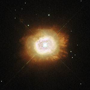 A smouldering star